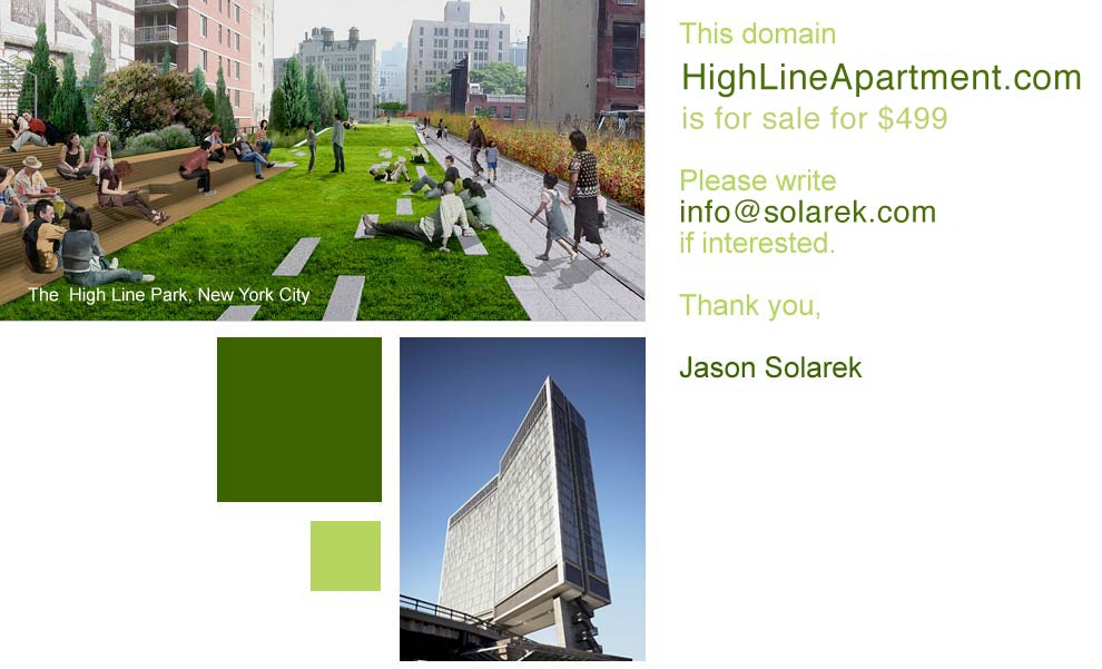 High Line apartment for rent